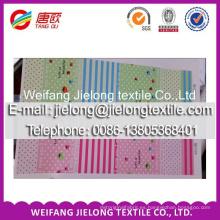 Tejido de sábanas 100% algodón personalizado 40 s para textiles para el hogar