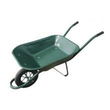 130kg 65L Construcción Industria Solid Air Tire Hand Barrow 6400