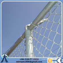 China Supplier High Quality epoxy coated prison chain link fence