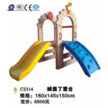 Conjunto de jogo de jardim de criança, plástico brinquedos de corrediça de criança