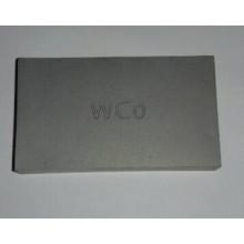 Placa específica especial de carboneto de tungstênio