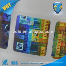 Tamper Proof Anti-counterfeit 3D custom hologram sticker on roll