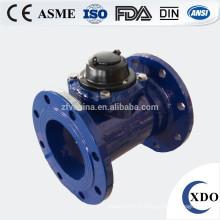 Compteur d'eau horizontal vrac amovible industriel OPE vente chaude