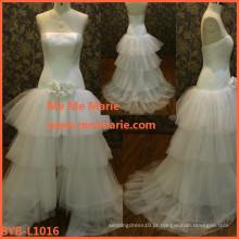 Vestido de noiva com vestido de casamento sexy Vestido de noiva com venda por cliente China BYB-L1016