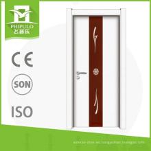 Phipulo nuevo diseño de melamina puerta de madera barato puertas de acordeón