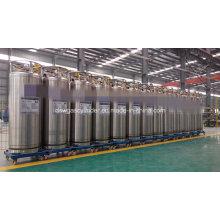 175L Dpl Kryogene Schweißen Wärmedämmzylinder für Flüssig Sauerstoff Stickstoff Gas Zylinder