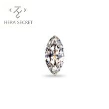 ForeverFlame  G H Marquise Cut EYE 1.2ct diamond CVD CZ Moissanite