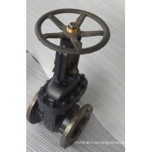 ASTM Wedge Flangeado Válvula de Puerta Wcb 150lb (Fábrica de válvula de aceite de China)