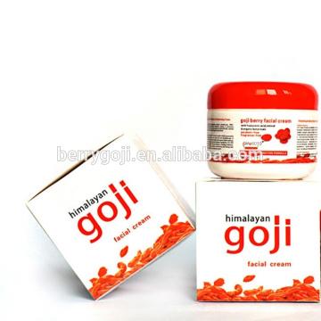 Fábrica de suministro profesional de cuidado de la piel goji baya crema OEM