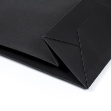 Hot sale for Brown Kraft Bags Top Fashion Unique Design Black Paper Bag supply to Germany Importers