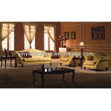 Hölzernes Hotel Lobby Möbel Sofa XY2847