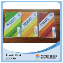 OEM Customized Plastic Card for Ticketing