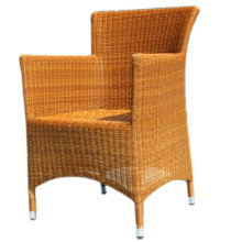 High Quality Restaurant Chair PE Resin Rattan Wicker Weave for Hotel Restaurant Outdoor Terrace