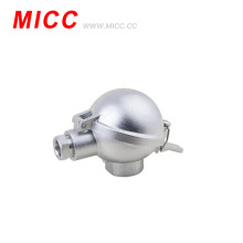 Tête de raccordement à thermocouple en aluminium MICC DANA / bornier en céramique