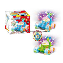 Battery Operated Flashing Car with Light and Music for Kids