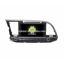 android 8inch audio car Gps/ buit-in Car stereo gps navigation Mirror Link for Elantra