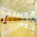 Ruede el piso de deportes del PVC / piso del baloncesto / superficie de madera del certificado de Fiba de la estera