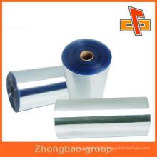 PVC/PET/PE/POF/BOPP plastic shrink film