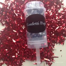 Kundenspezifische Konfetti Popper Party Push Pop für Bachelorette Party Feier begünstigt Hochzeit