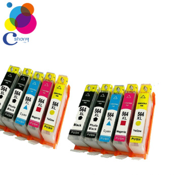 ink and cartridge for hp 364 ink cartridge for HP 5324 5373 5380 5383 printer Guangzhou factory