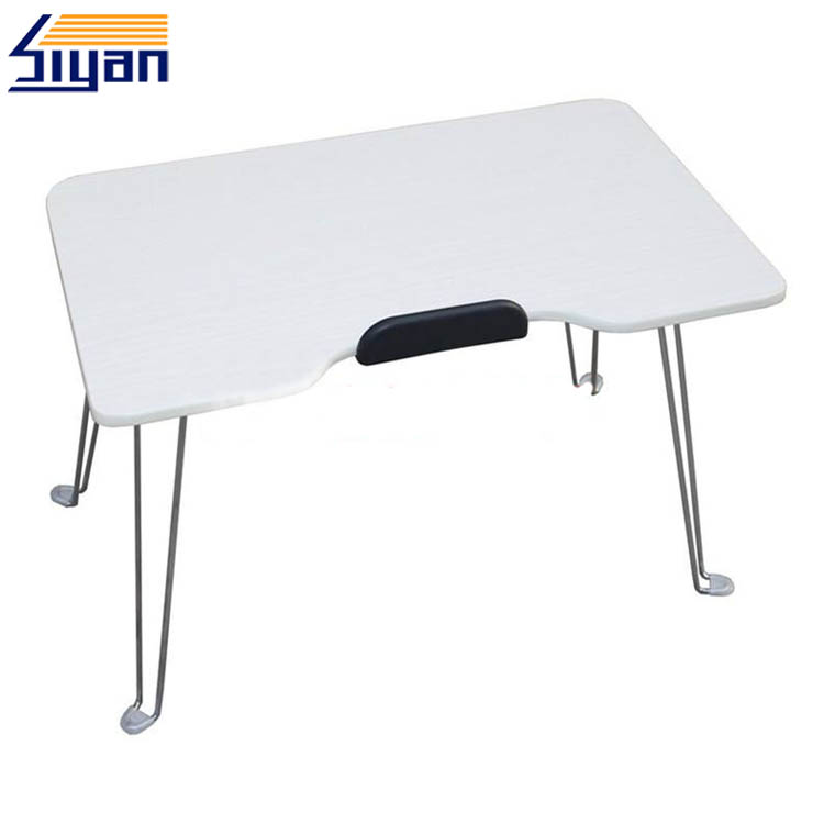 Foldable bed table for laptop