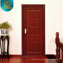 Puerta de madera del oscilación de la decoración del estilo breve para África