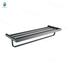 304 Stainless Steel Towel Rack Bathroom Clothes Shelf