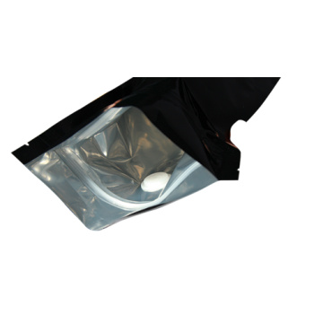 Plastic Side Gusset Pouch with Degassing Valve