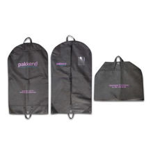 Nonwoven Suit Cover with Two Handles, Available in Black and Measures 65 x 5 x 110cm