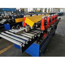 Máquina formadora de rolos de viga C para estantes
