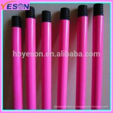 Китай высокое качество 1200 * 22 * 0.28mm металлические ручки метлой для рынка Италии