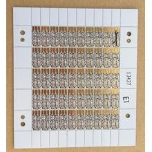 0.4mm double side PCB with White solder ENIG