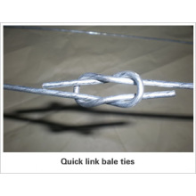 Galvanized Quick Link Bale Ties