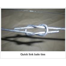 Galvanisé Quick Link Bale Ties
