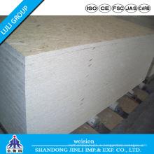 Высокое качество плиты OSB-3 доска с клеем wbp