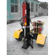 Vertikaler oder horizontaler Diesel Log Splitter