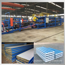 Rock wool sandwich panel membuat mesin