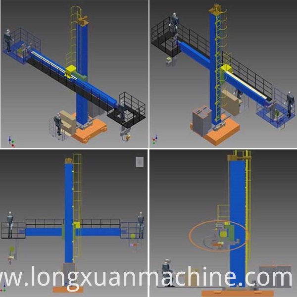 Automatic Welding Column 4