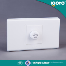 Tipo de Moda PC Dimmer Switch Material