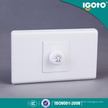 Tipo de Moda PC Dimmer Switch Material
