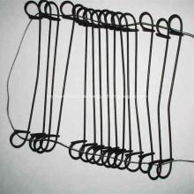 Galvanisierter oder PVC-beschichteter Doppelschleifen-Bindedraht