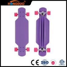 Uma grande variedade de skate de peixe personalizado quatro rodas longboard