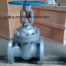 Vanne de fermeture à clapet à bride en acier à base de carbone 600lb 600 lb 600 lb