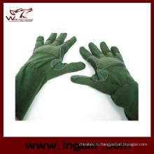 Airsoft СЕРЕДИНЫ руки полный палец перчатки тактические полета