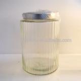 huge glass mason jar with a tap