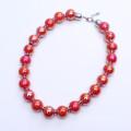 Collier en perles de grande taille de 18 mm