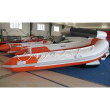 2,7 m, 3M, barco inflável de 3,3 m (com vela 8HP ~ motores de popa de 15HP)