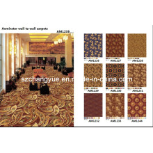 Axminster Wool Wall to Wall Hotel Carpets Fire Proof
