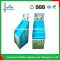 Impressão offset Grande capacidade minimarket prateleira guarda-chuva carrinho de exposição
