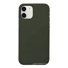 Cas de téléphone portable de tissu antichoc pour iphone 11